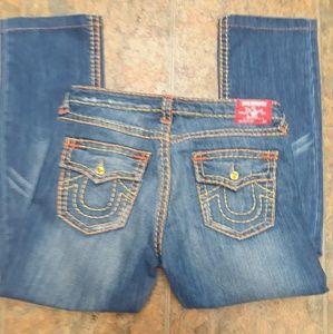 True Religion rhinestone jeans size 31